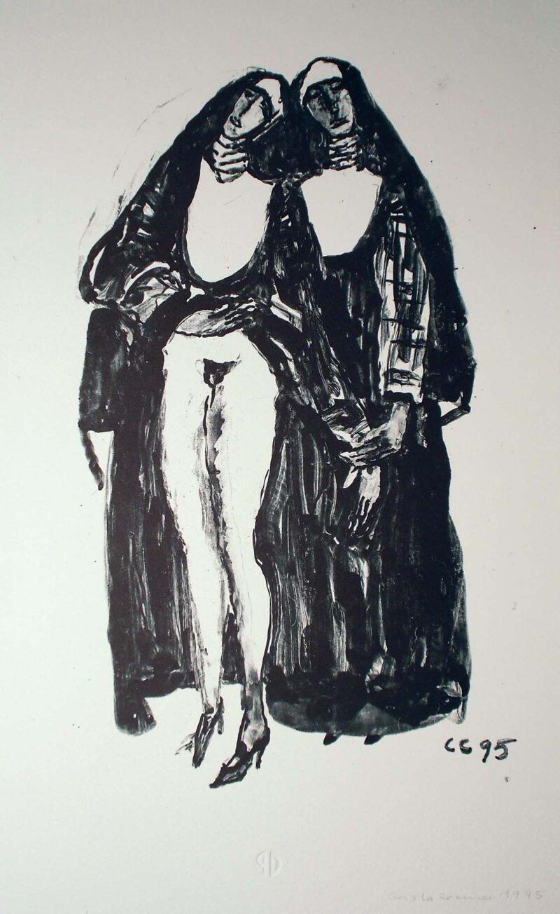 """Abbildung von """"(Zwei Nonnen II)"""""""