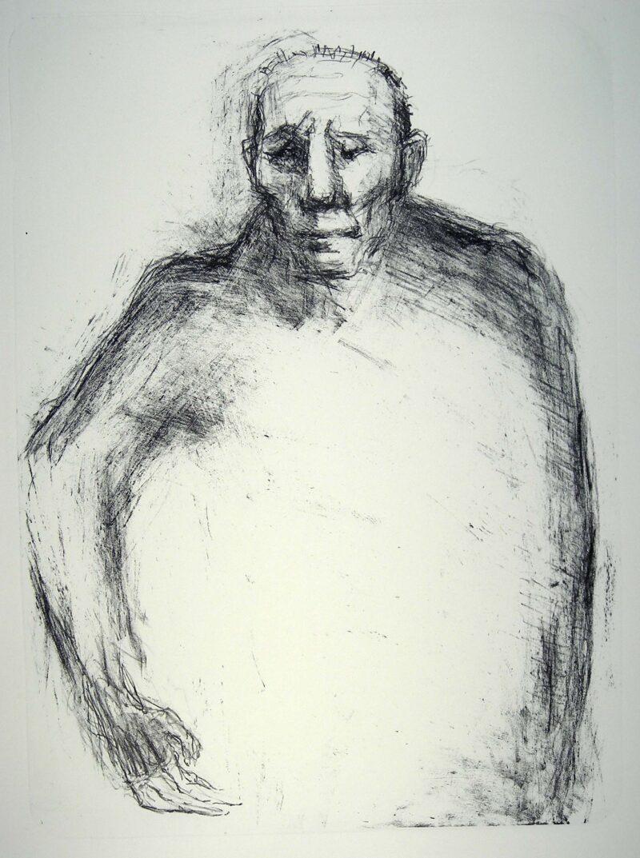 """Abbildung von """"(Bildnis eines alten Mannes)"""""""