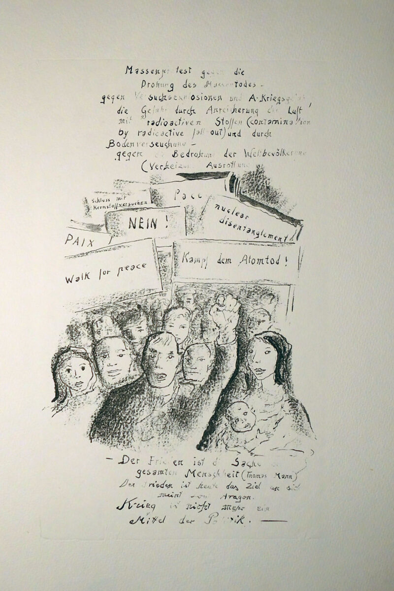 """Abbildung von """"Anti-Atomkriegs-Flugblatt I"""""""
