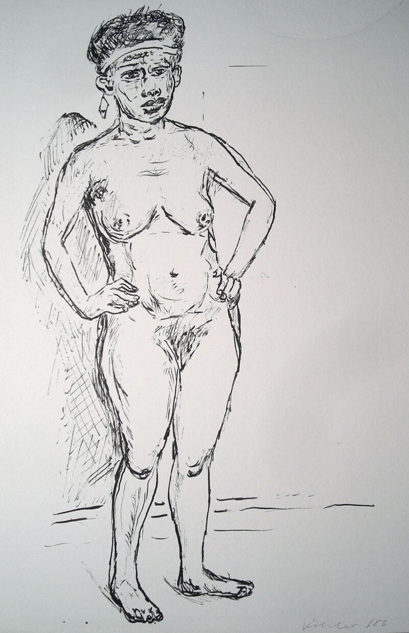 """Abbildung 1: """"(Stehende)"""" von Jürgen Köhler"""