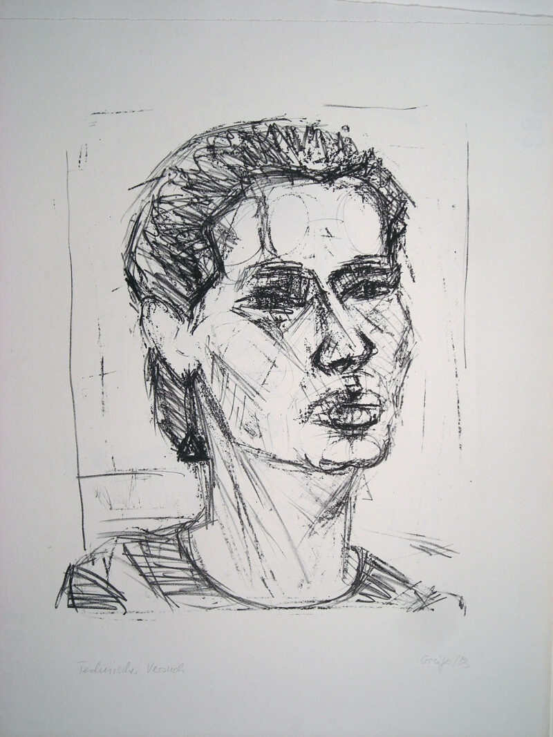 """Abbildung 1: """"(Frauenkopf)"""" von Margit Grüger"""