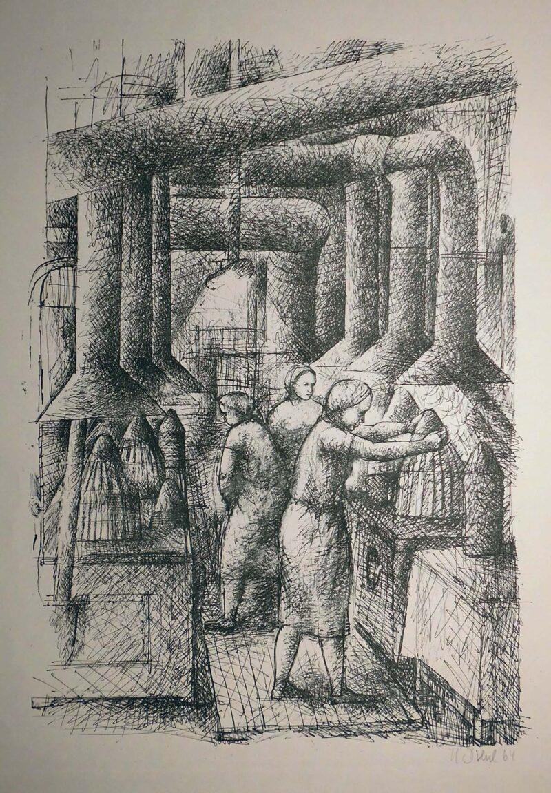 """Abbildung von """"(Fabrikarbeiterinnen)"""""""