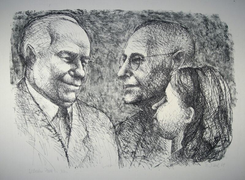 """Abbildung von """"Wilhelm Pieck in Guben"""""""