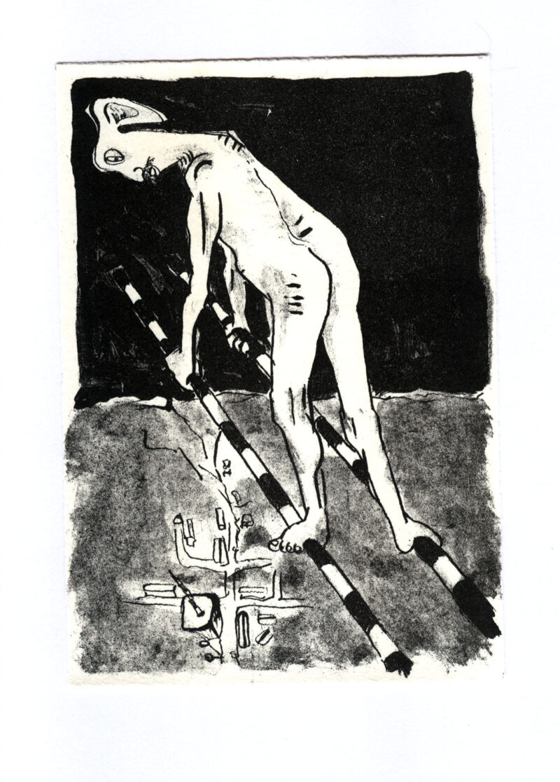 """Abbildung 1: """"Ikarus  I"""" von Peter Dettmann"""