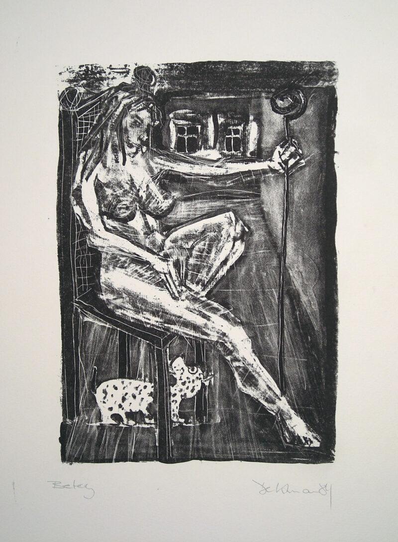 """Abbildung 1: """"Sitzende III"""" von Peter Dettmann"""