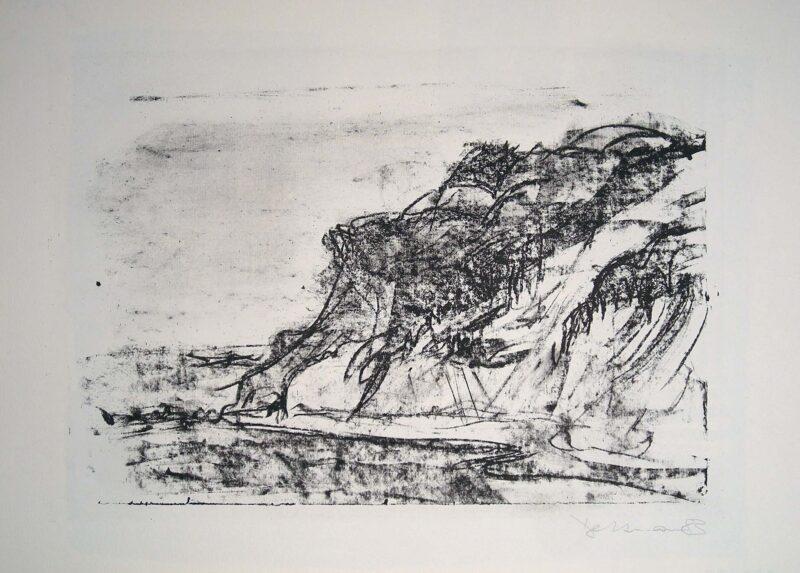 """Abbildung 1: """"Steilküste Dornbusch auf Hiddensee"""" von Peter Dettmann"""