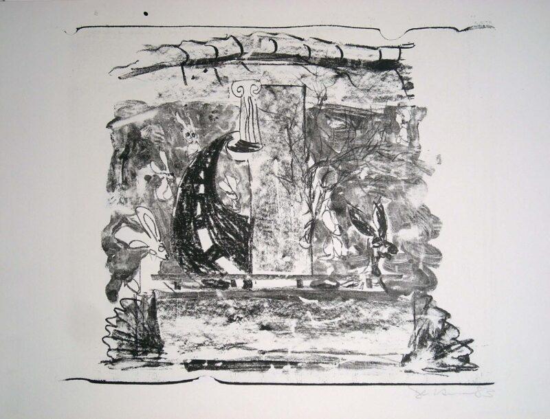 """Abbildung 1: """"Mauer III"""" von Peter Dettmann"""