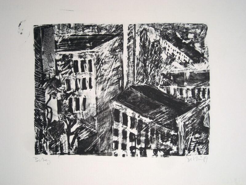 """Abbildung 1: """"Sonnenburger Straße III"""" von Peter Dettmann"""