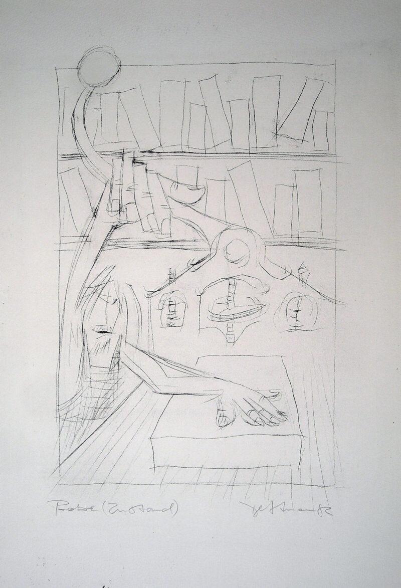 """Abbildung von """"Der Steindrucker"""""""