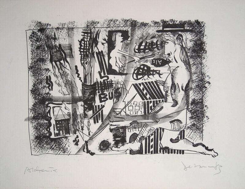"""Abbildung 1: """"Alchemie"""" von Peter Dettmann"""