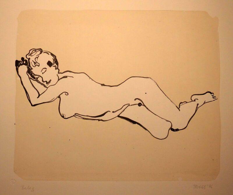 """Abbildung 1: """"Mondsichelfrau"""" von Christel Trage"""
