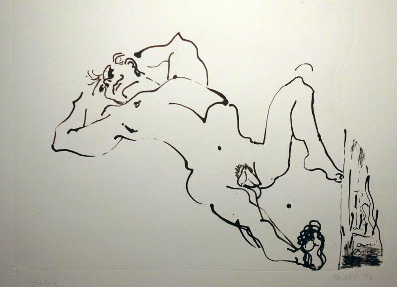"""Abbildung 1: """"Liegender"""" von Christel Trage"""