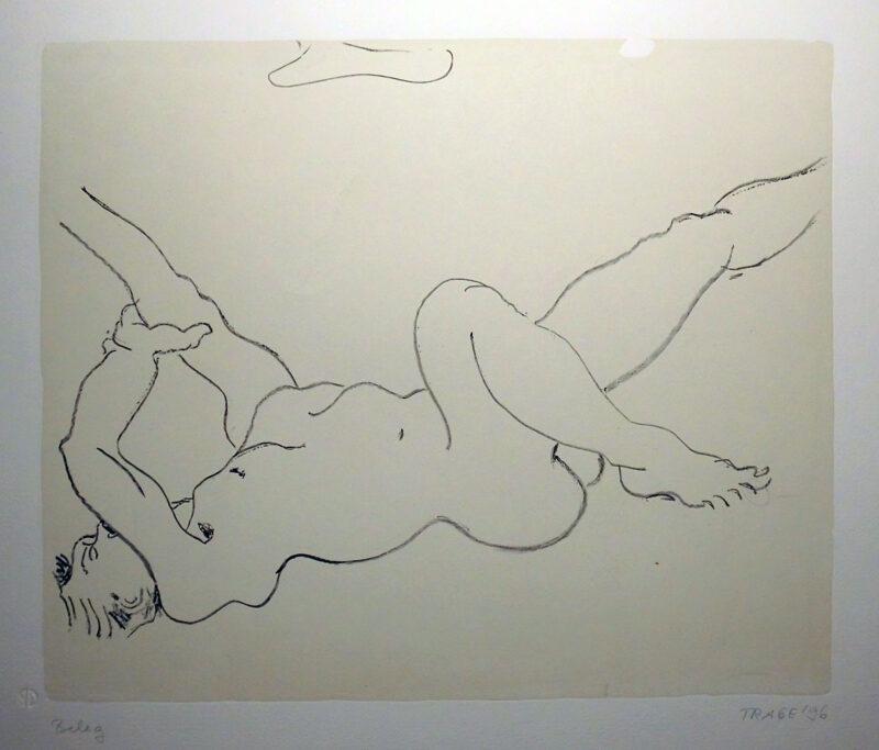 """Abbildung 1: """"Wolkenmann"""" von Christel Trage"""