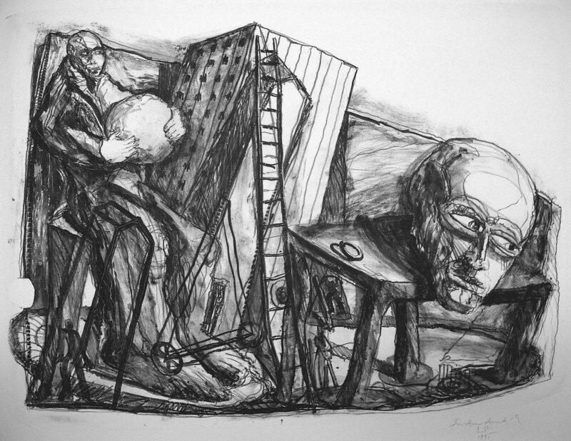 """Abbildung 1: """"Gaukler"""" von Franz-Anatol Wyss"""