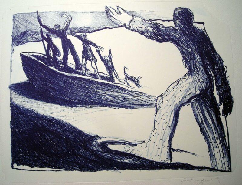 """Abbildung 1: """"Abschied"""" von Franz-Anatol Wyss"""