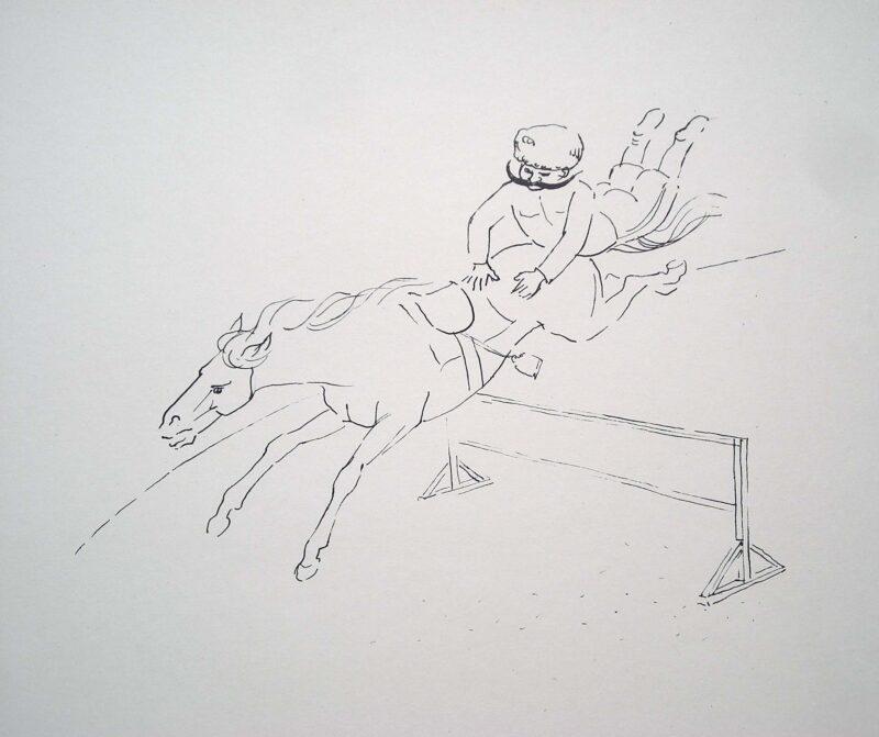 """Abbildung von """"Der Kunstreiter II"""""""