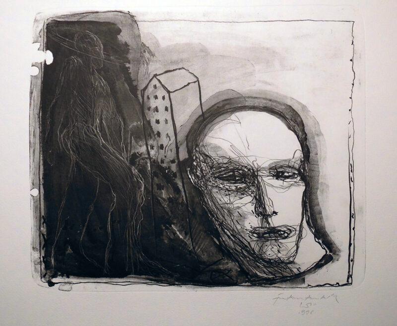"""Abbildung 1: """"Mensch"""" von Franz-Anatol Wyss"""