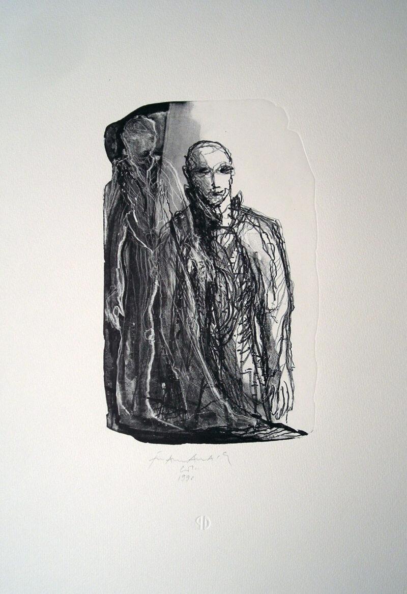 """Abbildung 1: """"Begegnung"""" von Franz-Anatol Wyss"""