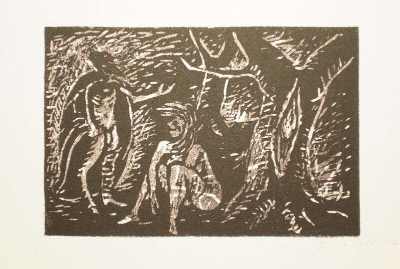 """Abbildung von """"Mephisto und die Alte"""""""