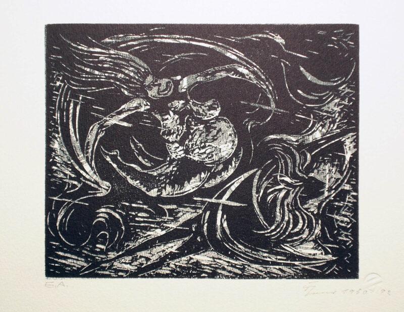 """Abbildung 1: """"Windsbräute"""" von Fritz Cremer"""