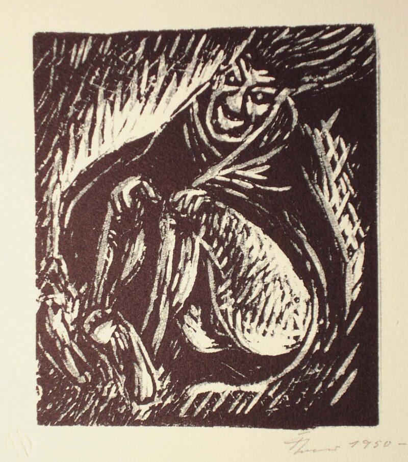 """Abbildung 1: """"Fliegende Hexe"""" von Fritz Cremer"""