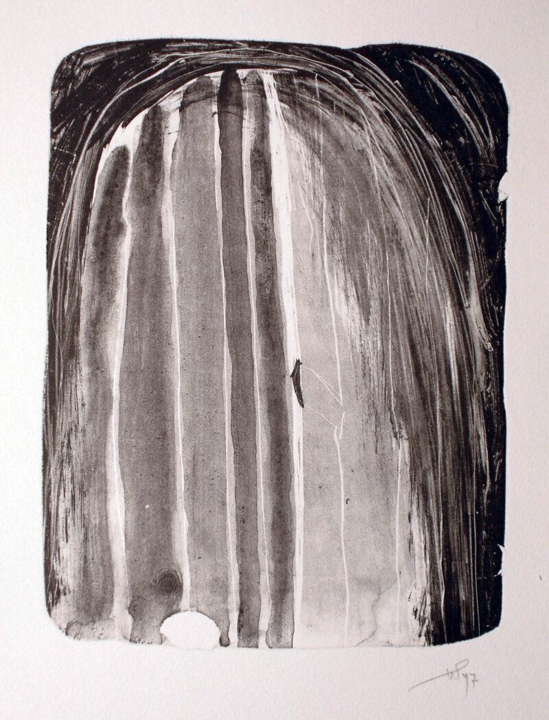 """Abbildung 1: """"(Das Tor)"""" von Werner Peters"""