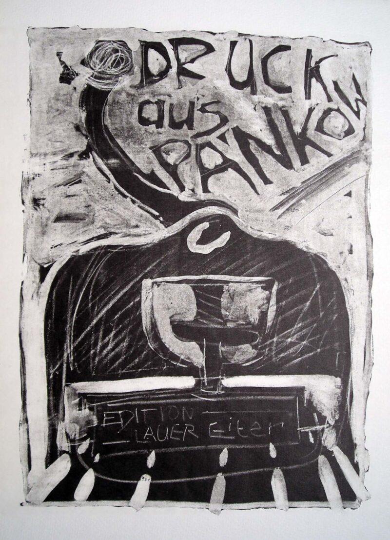 """Abbildung 1: """"Druck aus Pankow II"""" von Peter Dettmann"""