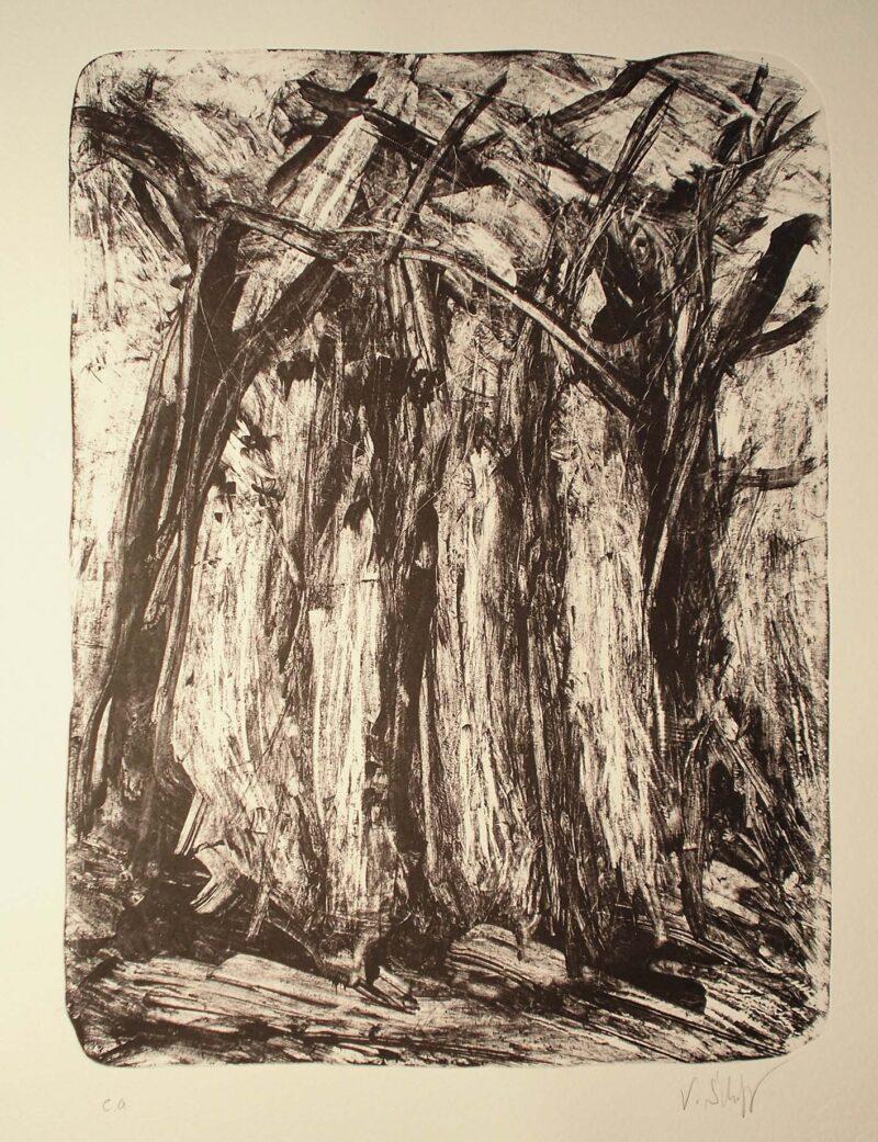 """Abbildung 1: """"(Küstenwald)"""" von Volker Scharnefsky"""