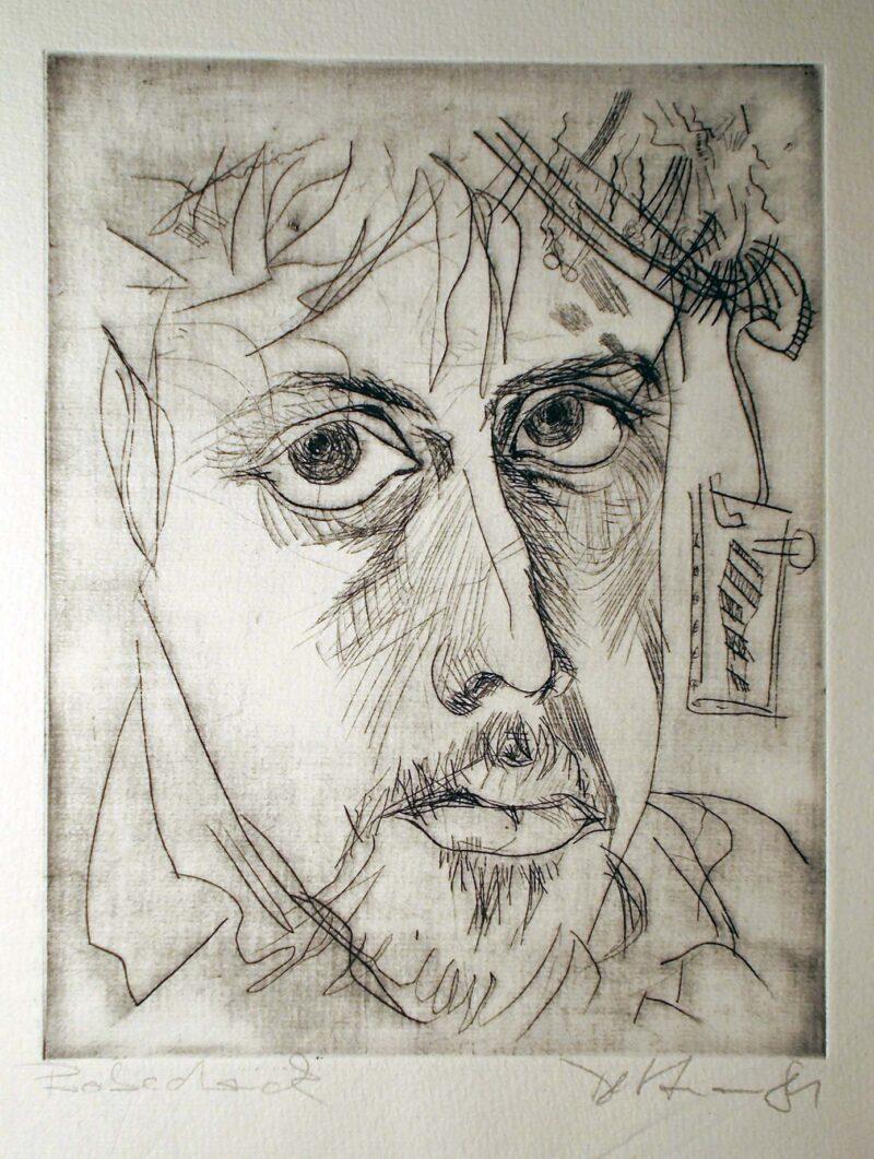 """Abbildung 1: """"Selbst'81"""" von Peter Dettmann"""