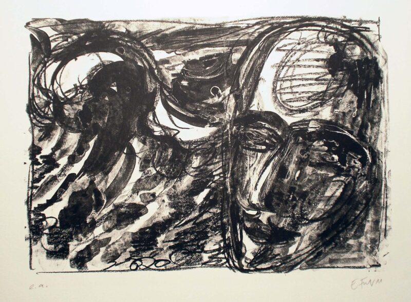 """Abbildung 1: """"Meerstück IX"""" von Ellen Fuhr"""