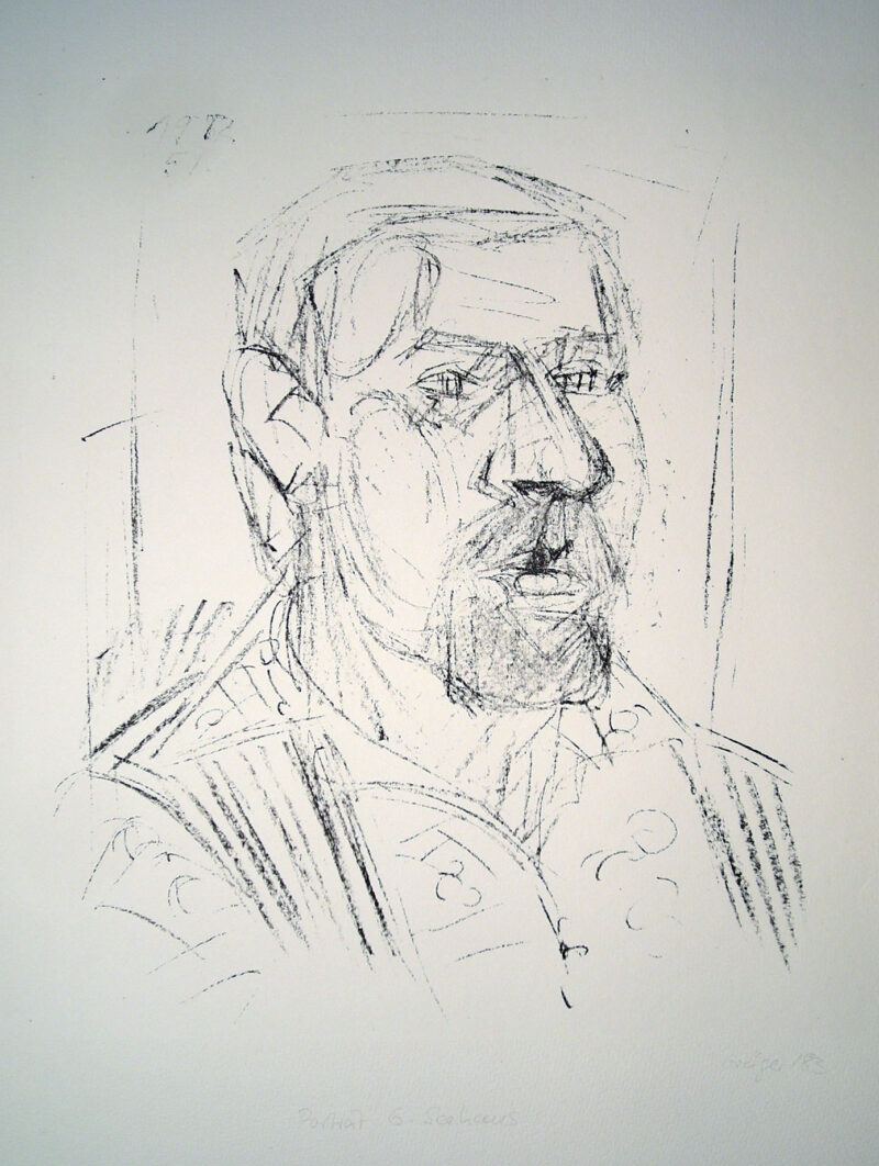 """Abbildung 1: """"Porträt G.Seehaus"""" von Margit Grüger"""