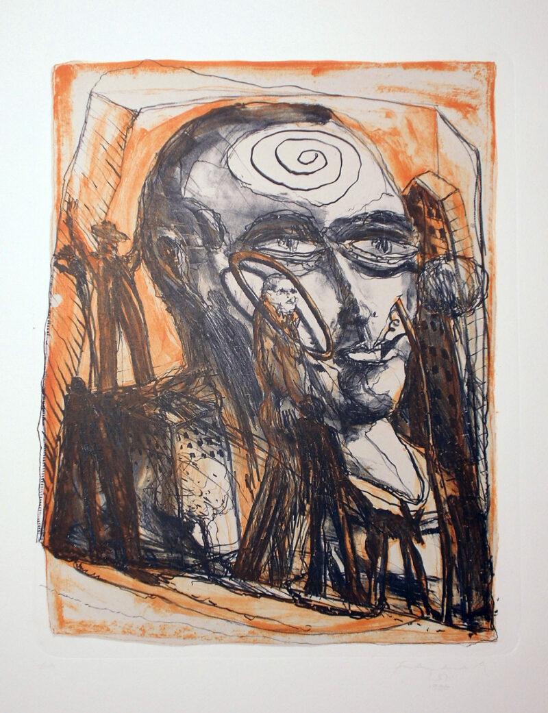 """Abbildung 1: """"Träumer"""" von Franz-Anatol Wyss"""