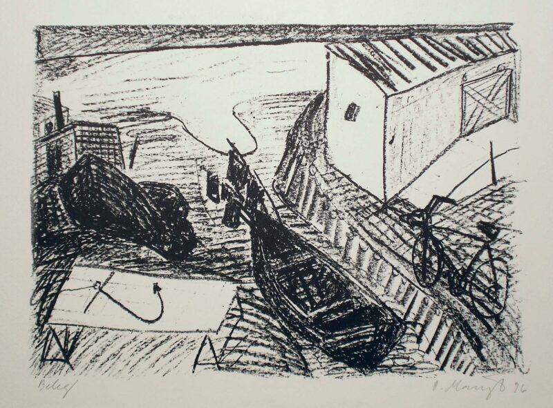 """Abbildung 1: """"Am alten Strand"""" von Oskar Manigk"""