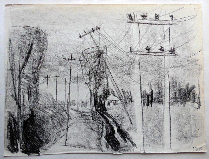 "Abbildung 1: ""Landschaft in Russland (Perwomaiski/Tambow)"" von Peter Dettmann"