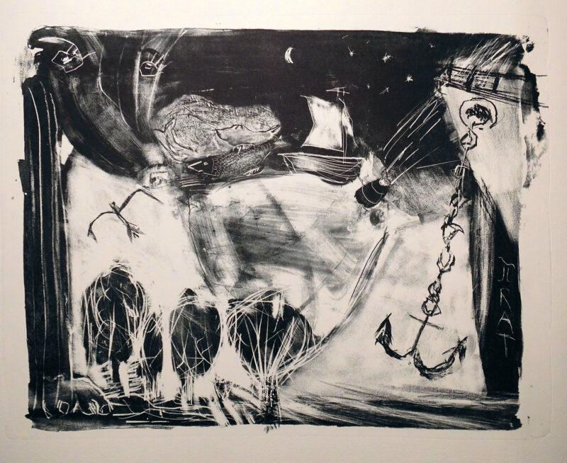 """Abbildung 1: """"Hommage an Oskar Manigk"""" von Peter Dettmann"""
