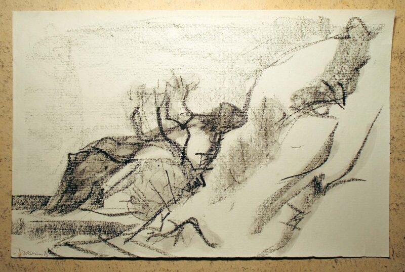 """Abbildung 1: """"Hiddensee I"""" von Peter Dettmann"""