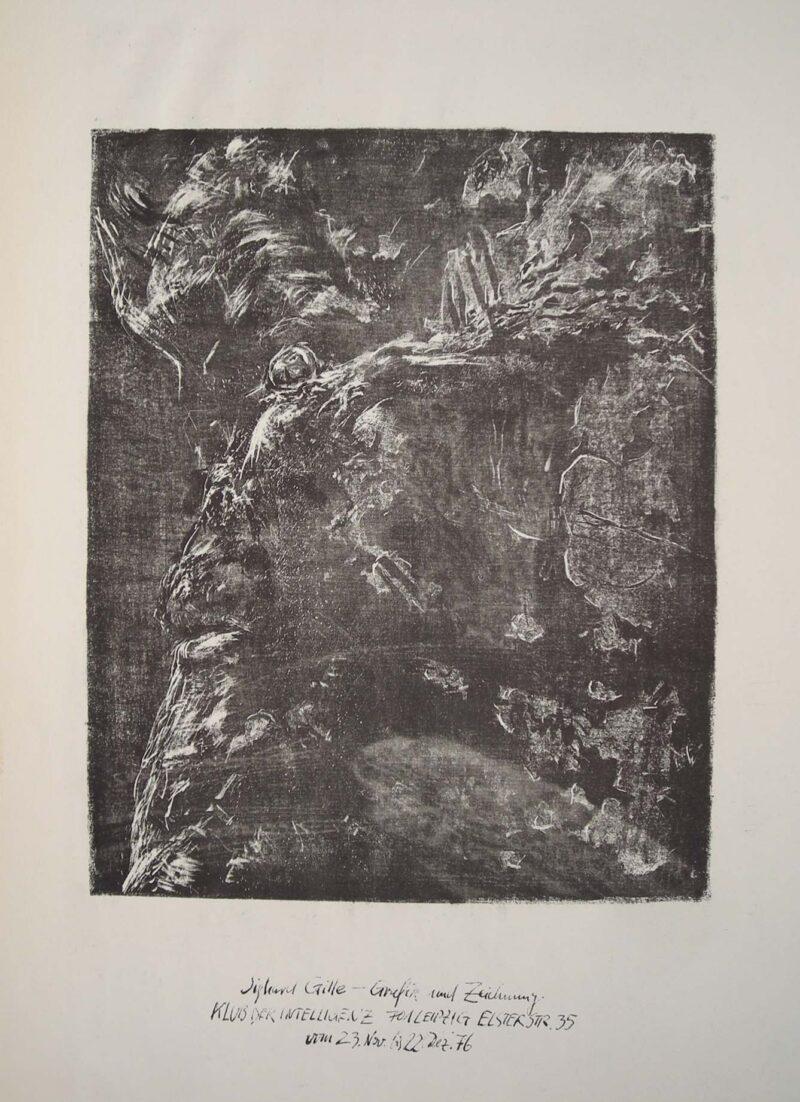 """Abbildung 1: """"Beschädigter Faunskopf I"""" von Sighard Gille"""