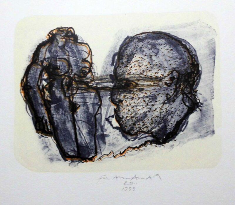 """Abbildung 1: """"Der scharfe Blick"""" von Franz-Anatol Wyss"""