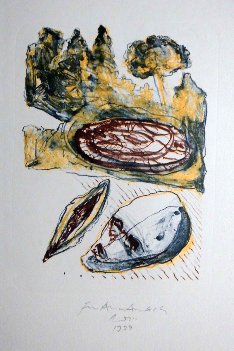 """Abbildung 1: """"Landschaft"""" von Franz-Anatol Wyss"""