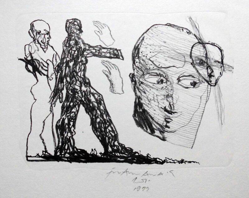 """Abbildung 1: """"Menschen"""" von Franz-Anatol Wyss"""