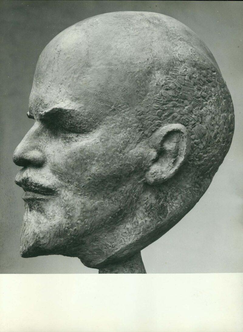 """Abbildung 1: """"Fotografie von Fritz Cremers Plastik """"Wladimir Iljitsch Lenin"""" (I)"""" von Fritz Cremer"""