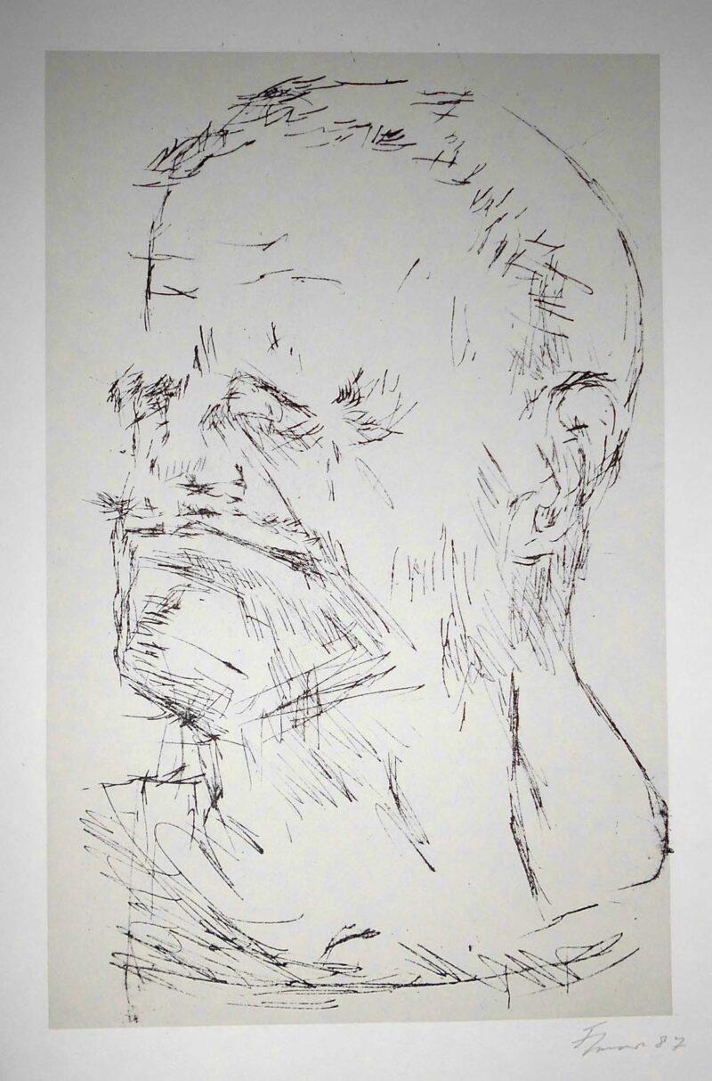 """Abbildung von """"Porträt Alfred Hrdlicka"""""""