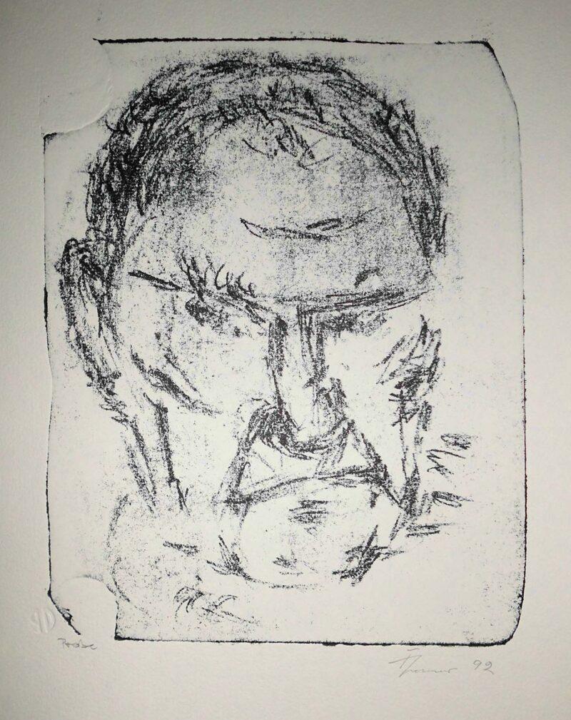 """Abbildung von """"Selbstporträt 11'92"""""""