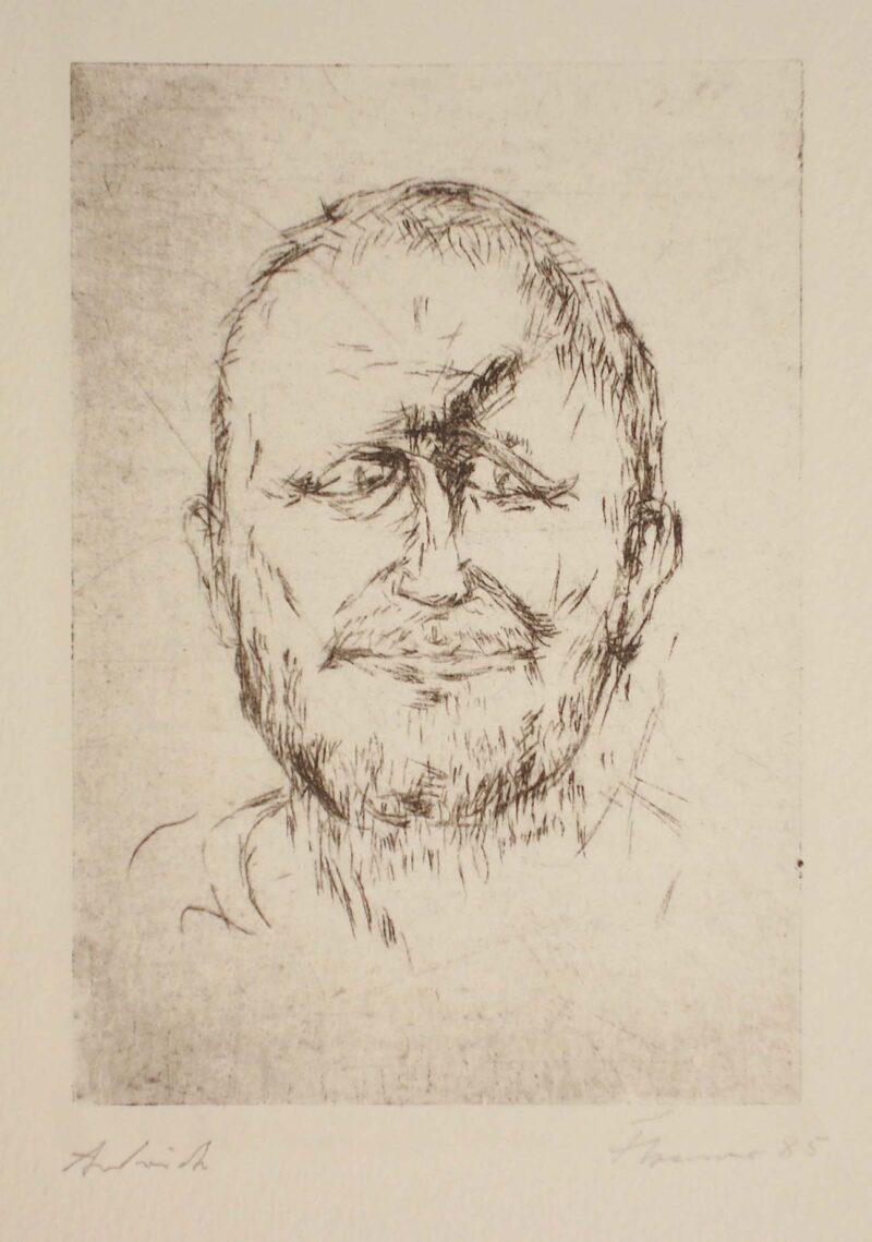 """Abbildung von """"Porträt Bertolt Brecht"""""""
