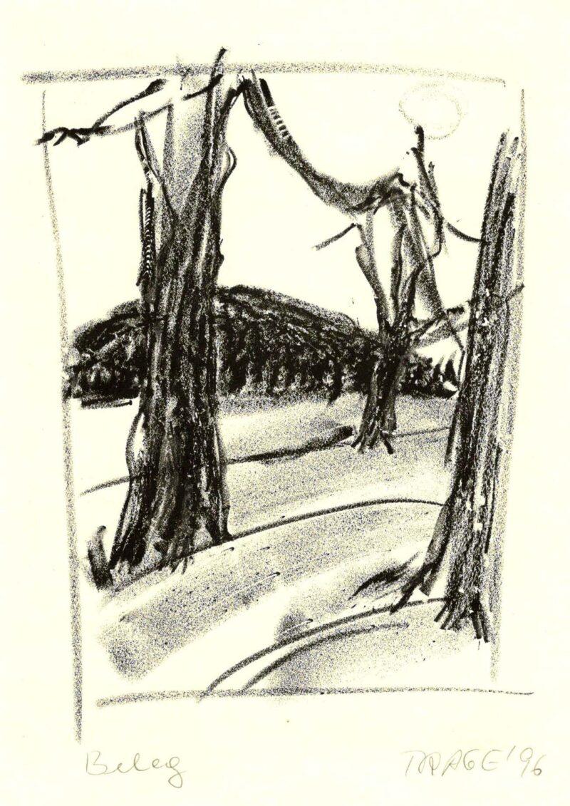 """Abbildung 1: """"Uckermark II"""" von Christel Trage"""