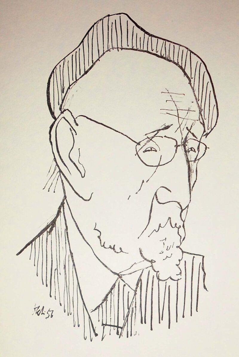 "Abbildung 1: ""Francis Jourdain"" von Herbert Sandberg"