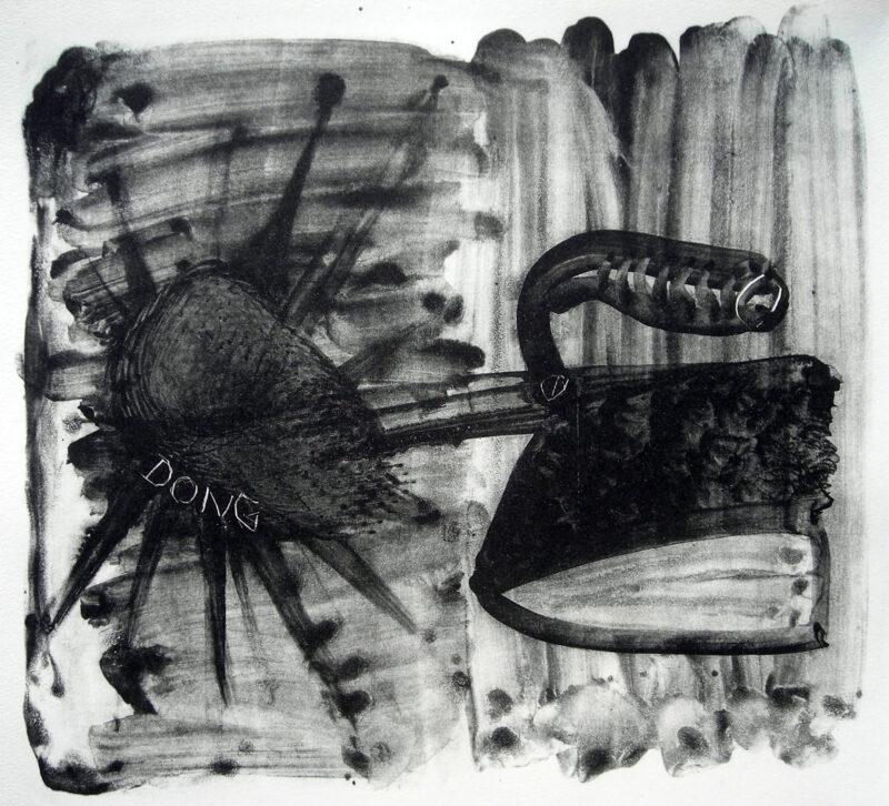 """Abbildung 1: """"Aufschlag nach Eintritt"""" von Peter Dettmann"""