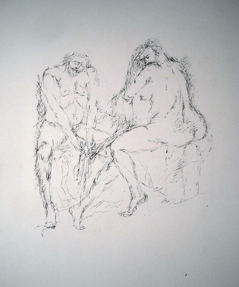 """Abbildung von """"Alt-Träume, Blatt 1"""""""