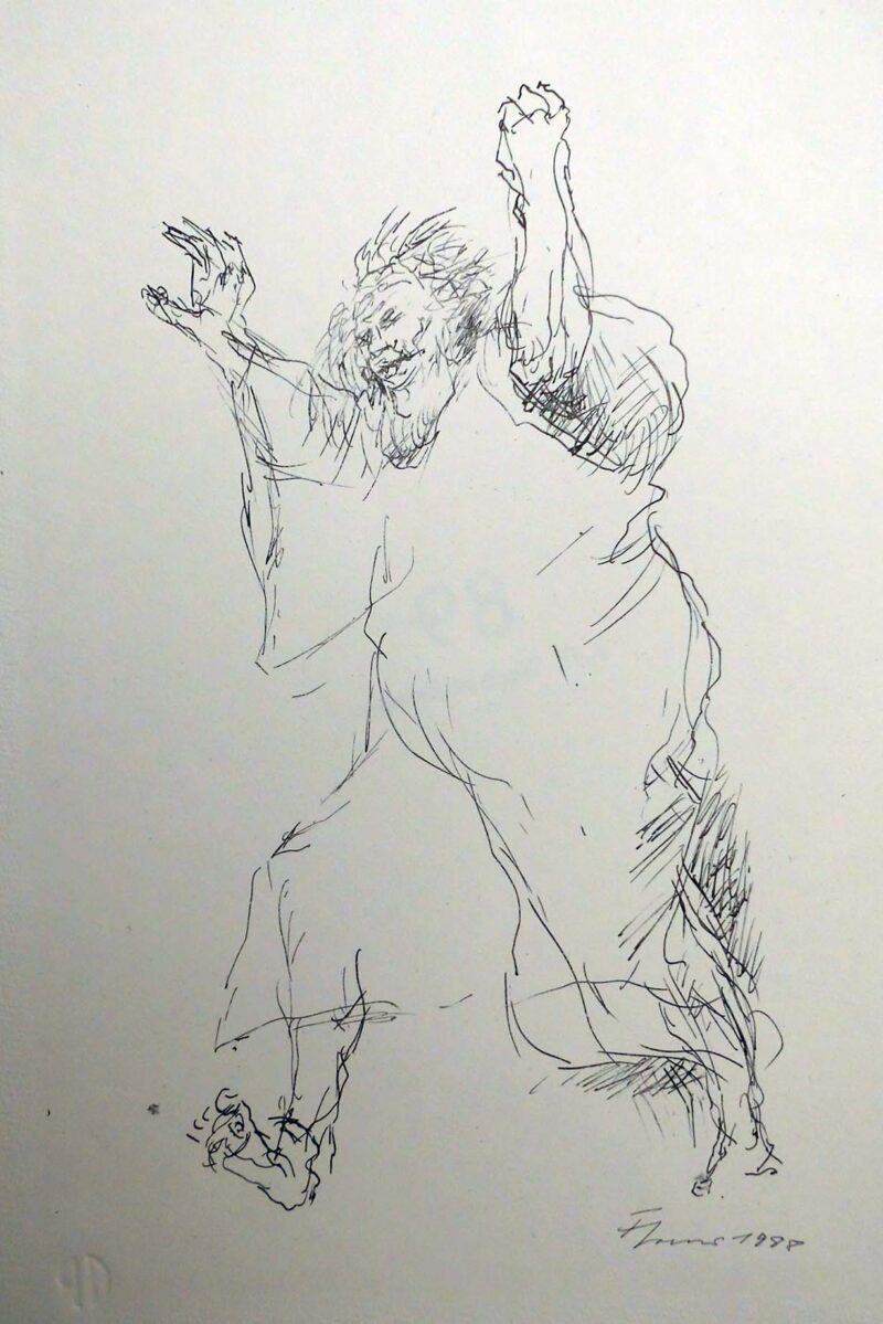 """Abbildung 1: """"Der falsche Baal"""" von Fritz Cremer"""