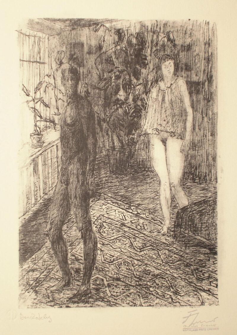 """Abbildung 1: """"Begegnung I"""" von Fritz Cremer"""